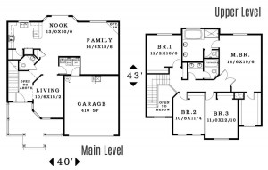 The Abbywood - Floorplan