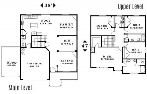 The Caldwell - Floorplan home plan