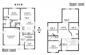The Cannondale - Floorplan home plan