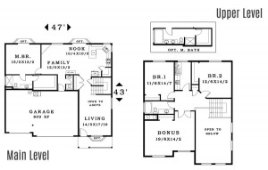 The Evergreen - Floorplan home plan