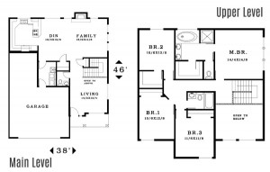 The Glenhaven - Floorplan home plan