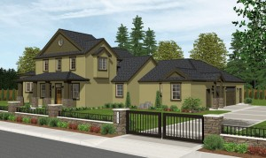 The Hemlock home plan elevation