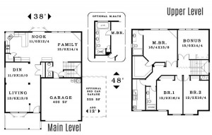 The Kensington - Floorplan home plan