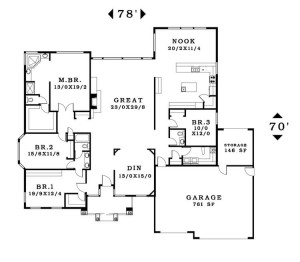 The Monroe - Floorplan