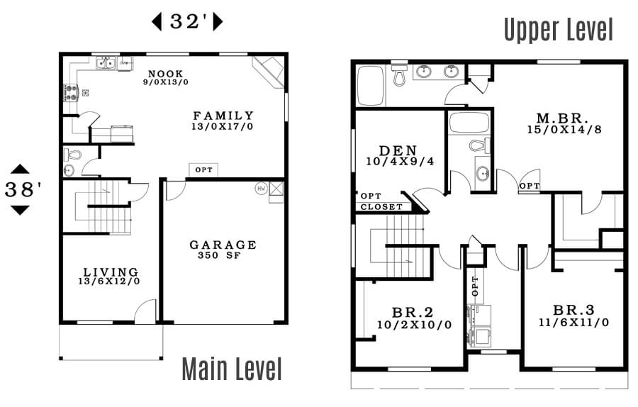 The Morgan - Floorplan home plan