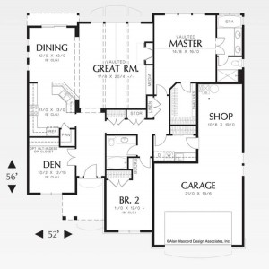 The Calloway - Floorplan
