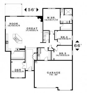 The Northwood - Floorplans