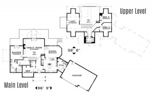 The Olympia - Floorplan home plan