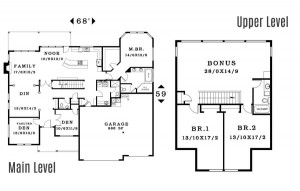 The Riverton - Floorplan home plan
