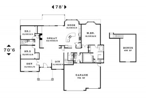 The Somerset - Floorplan