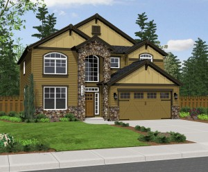 The Sonoma home plan elevation