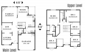 The Sonoma - Floorplan home plan