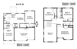 The Sutherland - Floorplan home plan