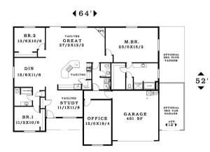 The Timberline - Floorplan