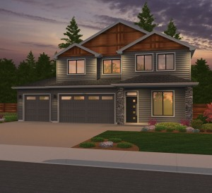 The Avondale home plan elevation