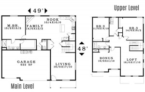 The Avondale - Floorplan home plan