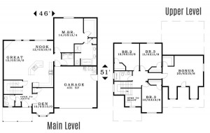 The Bainbridge - Floorplan home plan