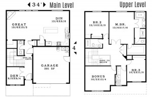 The Hampton - Floorplan home plan