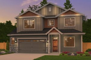 The Clarkson home plan elevation