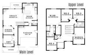 The Cypress - Floorplan home plan