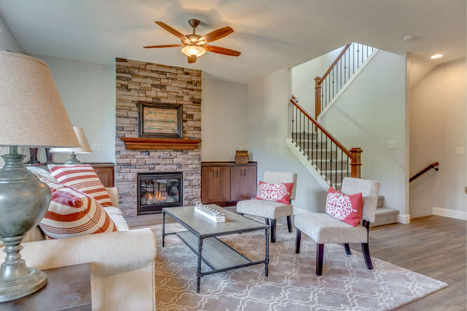 parkview lot 24 stairs living room